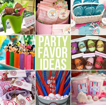 Party Favors Ideas for an Exciting Party